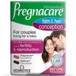 Pregnacare Conception Him & Her Tablets Pack of 60
