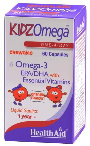 HealthAid KidzOmega Chewable Capsules Pack of 60
