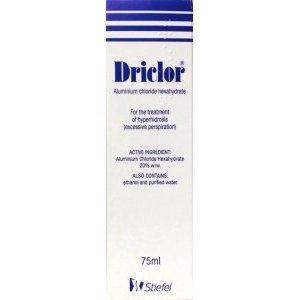 Driclor Roll on 75ml Pack of 3