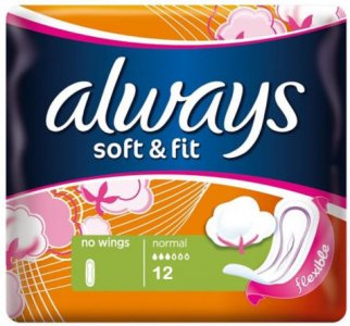Always Soft & Fit Ultra Normal Pack of 12