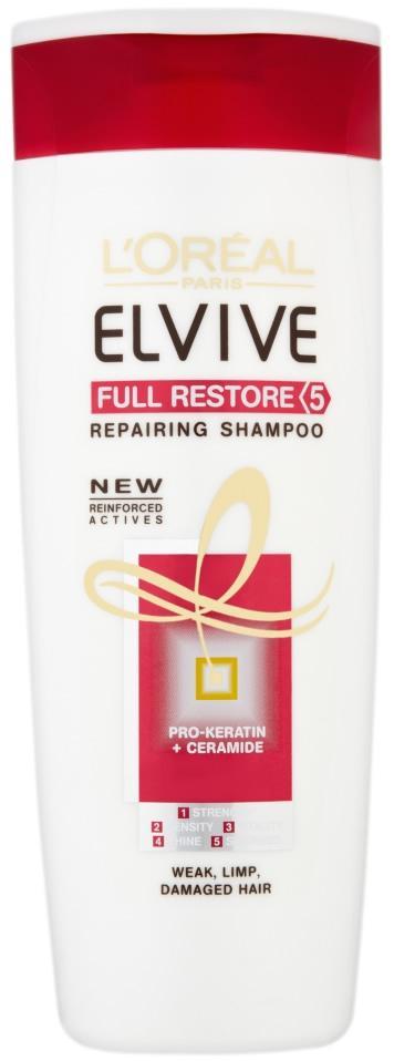 L'Oreal Elvive Full Restore 5 Repairing Shampoo 400ml