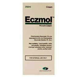 Eczmol 1% w/w Cream 250ml