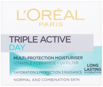 L'Oreal Triple Active Day Moisturiser for Normal/Combination Skin 50ml