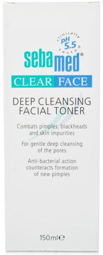 Seba Med Clear Face Deep Cleansing Facial Toner 150ml