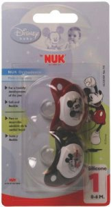 Nuk Disney Soother With Silicone Teat - Size 1
