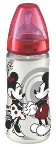 Nuk Disney First Choice 300ml Bottle Red