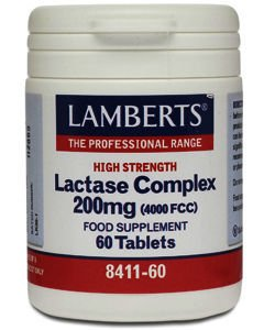 Lamberts Lactase Complex Tablets 200mg Pack of 60