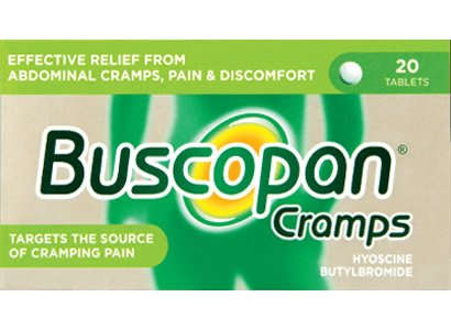 Buscopan Cramps Tablets 10mg Pack of 20