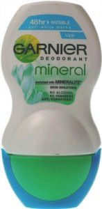 Garnier Mineral Roll-on Deodorant For Women Invisible 50ml