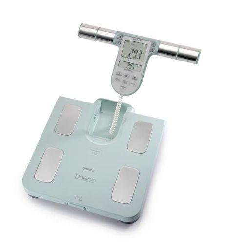 Omron BF511 Family Body Composition Monitor Scale Turquoise