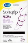 Scholl Softgrip Light Support Below Knee Natural Extra Large