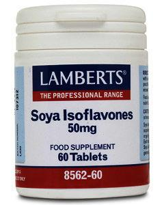 Lamberts Soya Isoflavones 50mg Tablets Pack of 60