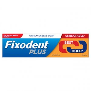 Fixodent Plus Denture Adhesive Cream 40g