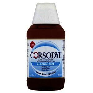 Corsodyl Alcohol-free Mouthwash  300ml