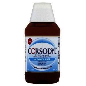 Corsodyl Alcohol-free Mouthwash  300ml