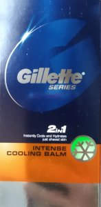 Gillette Series 2 in 1 Intense Cooling Balm 100ml
