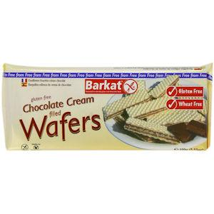 Barkat Gluten Free Chocolate Cream Filled Wafers 100g