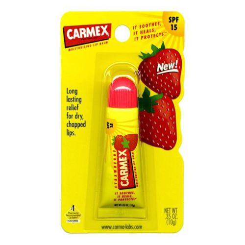 Carmex Strawberry Lip Balm Tube 10g