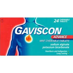 Gaviscon Advance Tablets Pack of 24