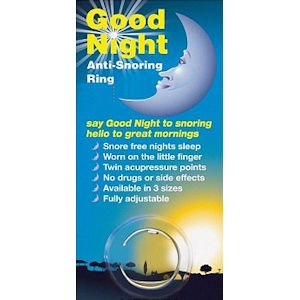 Good Night Anti Snoring Ring Medium