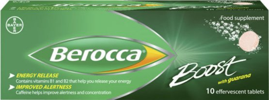 Berocca Boost Tablets Pack of 10