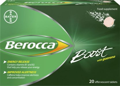 Berocca Boost Tablets  Pack of 20