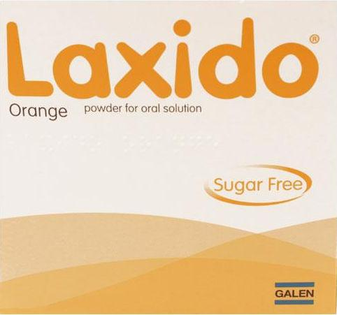 Laxido Orange Powder Sachets Sugar Free Pack of 20