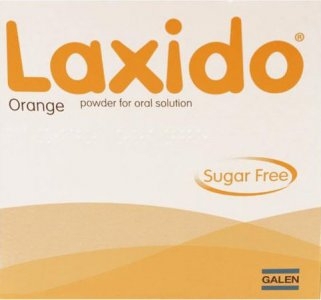 Laxido Orange Powder Sachets (Sugar Free) - Pack of 30