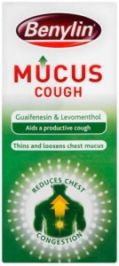 Benylin Mucus Cough Syrup 300ml
