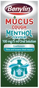 Benylin Mucus Cough Menthol 150ml