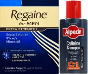 Regaine Men 60ml Lotion & Alpecin Caffeine Shampoo C1 250ml