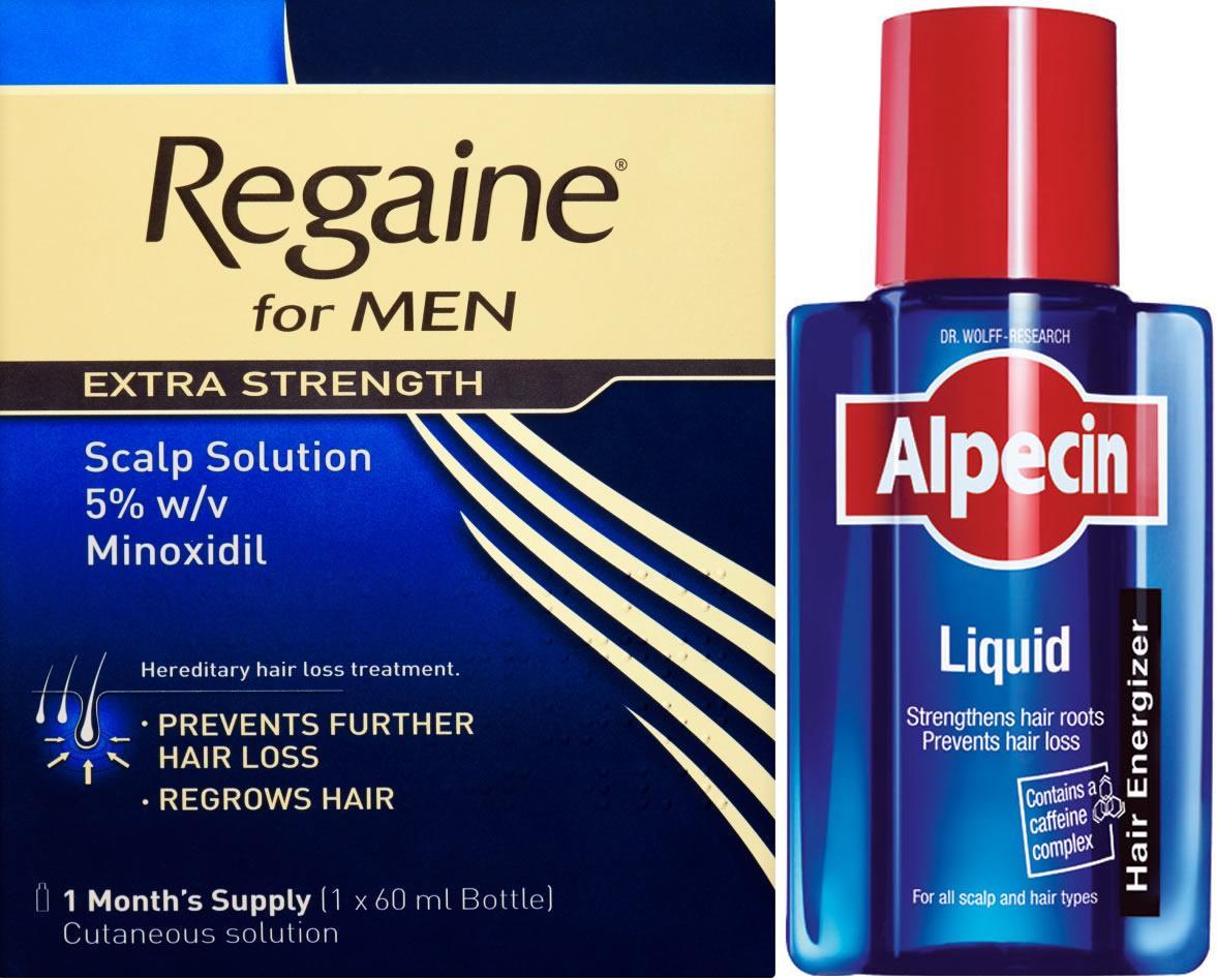 Regaine Men Lotion 60ml & Alpecin Liquid 200ml