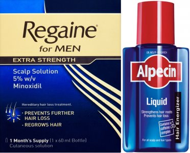 Regaine Men Lotion 60ml & Alpecin Liquid 200ml