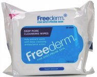Freederm Deep Pore Cleansing Wipes Pack of 25