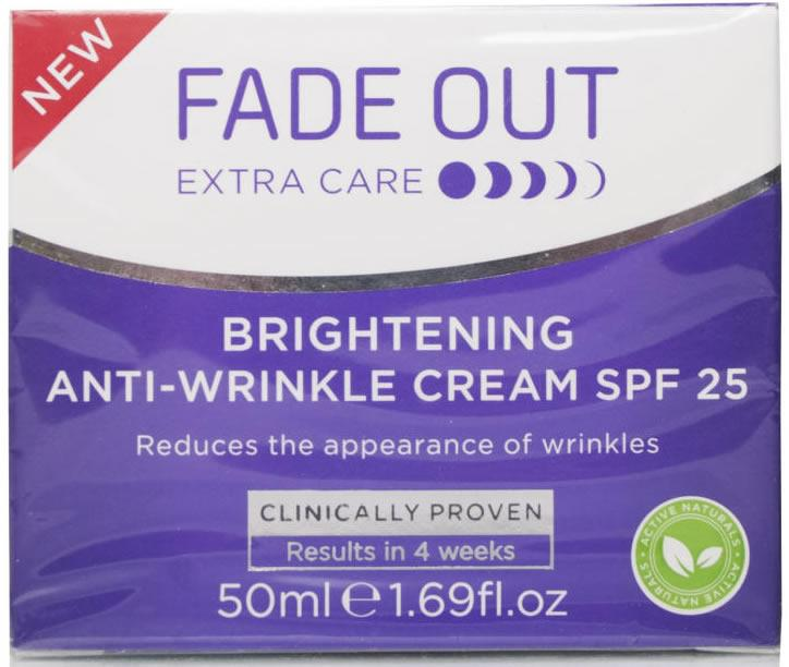 Fade Out Brightening Anti-wrinkle Cream 50ml