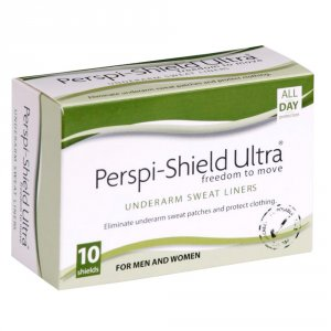 Perspi Shield Ultra Underarm Sweat Pads Pack of 10