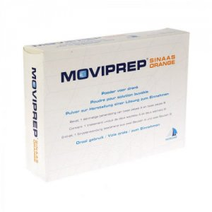 Moviprep Sachets Orange Flavour Pack of 4