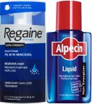 Regaine Men Foam 73ml & Alpecin Liquid 200ml