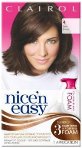 Clairol Nice n Easy Colour Blend Foam Dark Brown 4