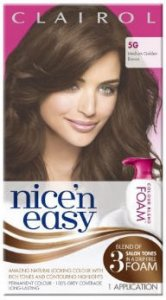 Clairol Nice n Easy Colour Blend Foam Medium Golden Brown 5G
