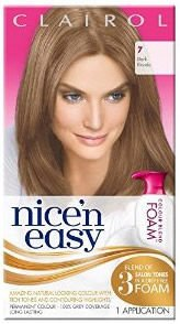 Clairol Nice n Easy Colour Blend Foam Dark Blonde 7