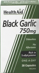 HealthAid Black Garlic 750mg Capsules Pack of 30