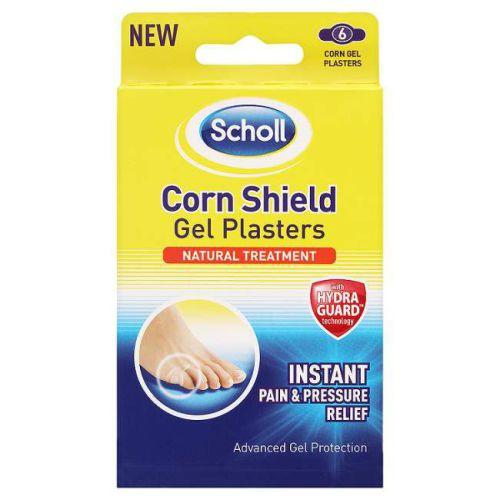Scholl Corn Shield Gel Plasters Pack of 6