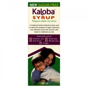 Kaloba Pelagonium Sidoides Root Extract Syrup 100ml