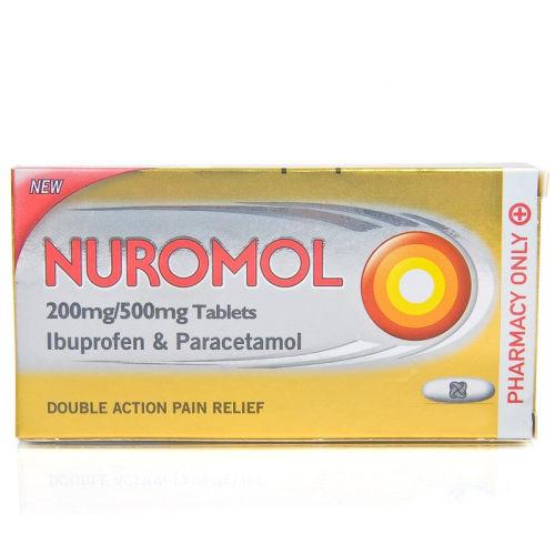 Nuromol Double Action Tablets Pack of 12