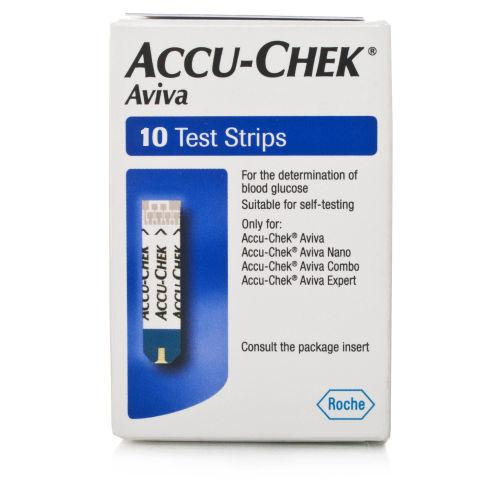 Accu Chek Aviva Test Strips Pack of 10