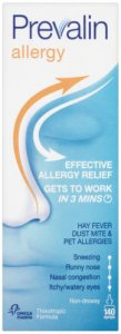 Prevalin Allergy Relief Spray Adult 140 Sprays