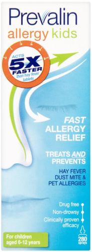 Prevalin Allergy Relief Spray Kids 280 Sprays