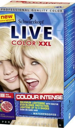 Schwarzkopf Live Colour XXL Maximum Blonde 00B