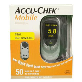 Accu Chek Mobile Blood Glucose Meter